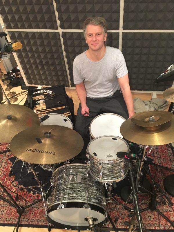 Drummer Martin Kollerup Sørensen